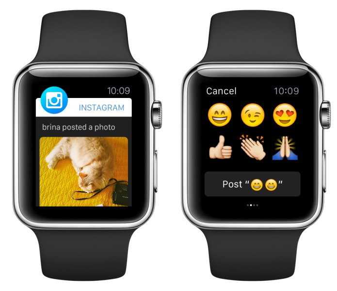 Apple Watch için Instagram